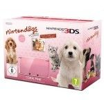 Nintendo 3DS (Rose Corail) + Nintendogs & Cats