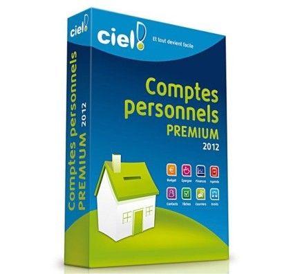 Ciel Comptes Personnels 2012 Premium - PC