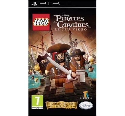 LEGO Pirates des Caraïbes - PSP