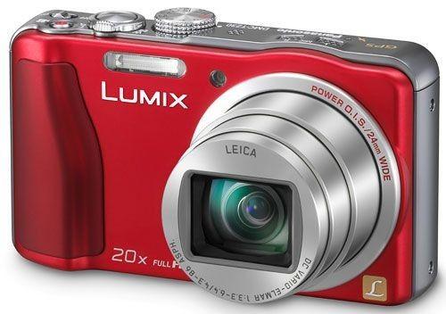 Panasonic Lumix DMC-TZ30 (Rouge)