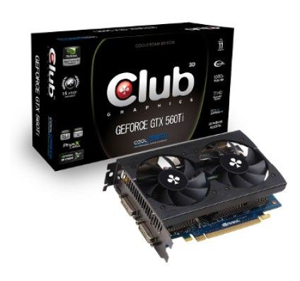 Club 3D GeForce GTX 560 Ti CoolStream Edition 2Go