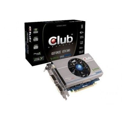 Club 3D GeForce GTX 560 1Go Green Edition