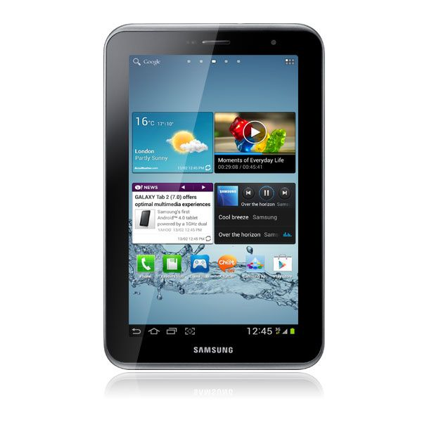 samsung galaxy tab 2 7 3g 16go titanium silver. Black Bedroom Furniture Sets. Home Design Ideas