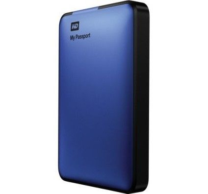 WD My Passport USB 3.0 500Go (Bleu)