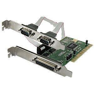 Connectland Carte PCI 2x Série + 1x Parallèle