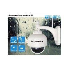 Acromedia Caméra Dome IP Motorisée