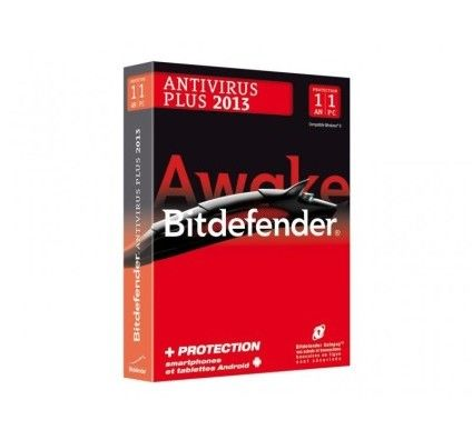 Bitdefender Antivirus Plus 2013 - Licence 1 an 1 poste - PC