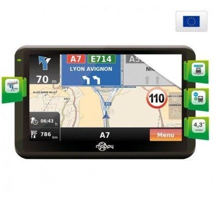 Mappy Iti E408 - Europe
