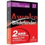 Bitdefender Total Security 2013 - Licence 2 ans 3 postes - PC
