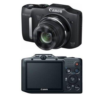 Canon PowerShot SX160 IS (Noir)