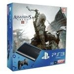 Sony Playstation 3 Ultra Slim 500Go + Assassin's Creed 3