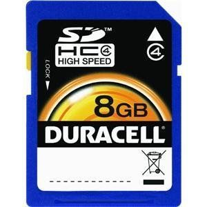 Duracell SDHC 8Go Class 4