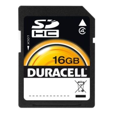 Duracell SDHC 16Go Class 4
