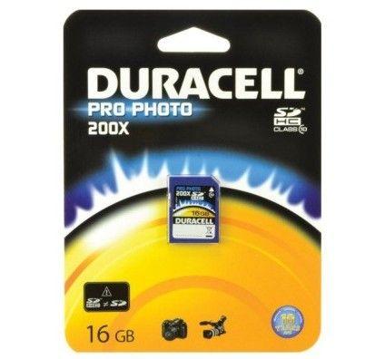 Duracell SDHC 16Go Class 10 Pro Photo - 200X