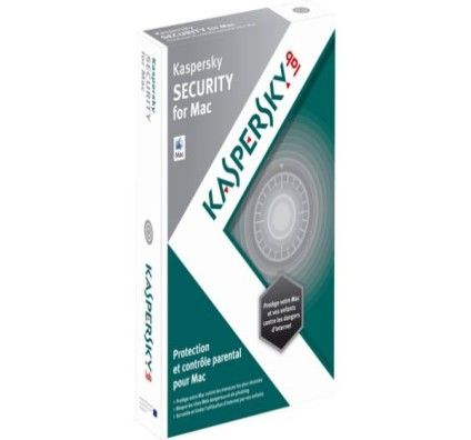 Kaspersky Security 2013 1 Poste/ 1 An - Mac