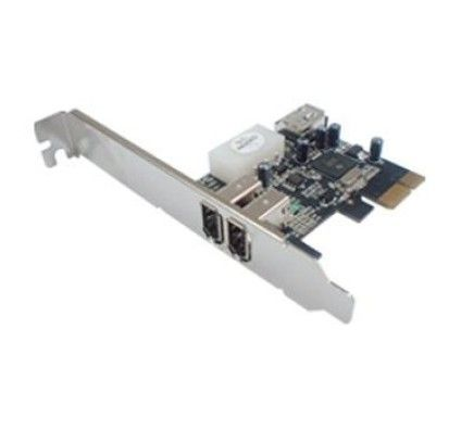 Générique Carte PCI-E FireWire 400 (Chipset Texas Instruments)