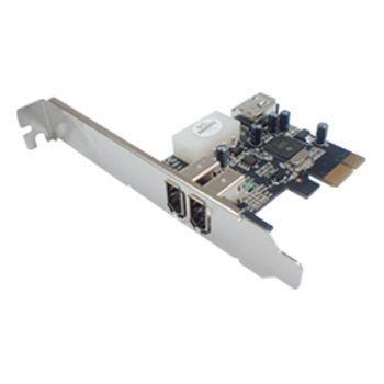 Générique Carte PCI-E FireWire 400 (Chipset Texas Instruments)