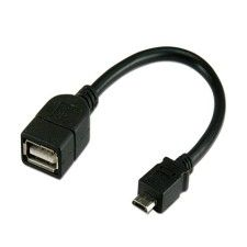 Adaptateur Micro USB-B vers USB type A Femelle