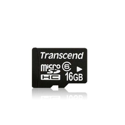 Transcend Micro SDHC 16Go CL6