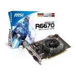MSI Radeon R6670-MD1GD3 V2