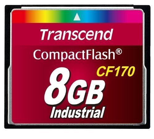 Transcend Compact Flash CF170 8Go