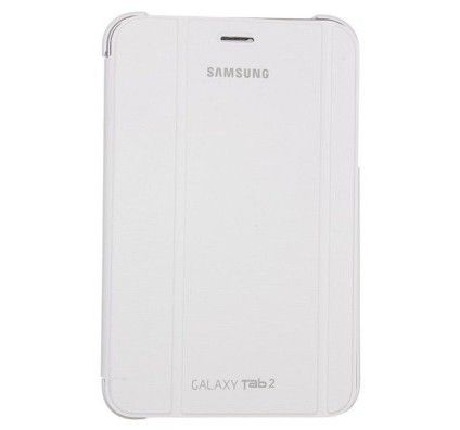 "Samsung Book Cover Galaxy Tab 2 7"" (Blanc)"