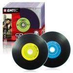 Emtec CD-R 80mn - 52x (Vinyl - Boite x10)