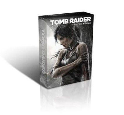 Tomb Raider - Survival Edition - Xbox 360
