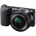 Sony NEX-5R (Black) - Objectif 16-50mm