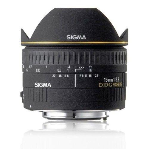 Sigma 15mm F2.8 EX DG DIAGONAL FISHEYE > Canon
