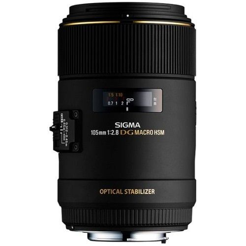 Sigma MACRO 105mm F2,8 EX DG OS HSM > Canon