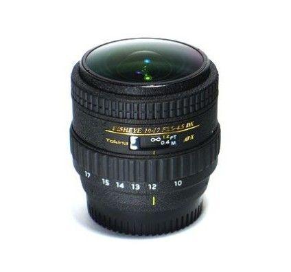 Tokina 10-17mm Fisheye f/3.5-4.5 AT-X 24x36 > Canon