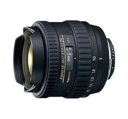 Tokina 10-17mm Fisheye f/3.5-4.5 AT-X pour Capteur APS-C > Canon