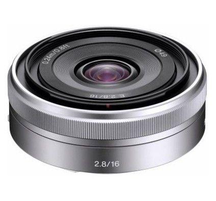 Sony SEL16F28 Pancake E16 mm F2,8