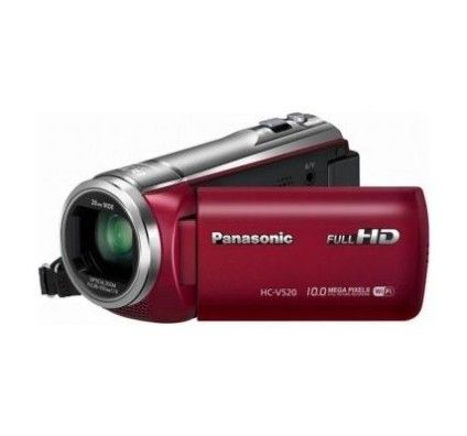 Panasonic HC-V520 (Rouge)