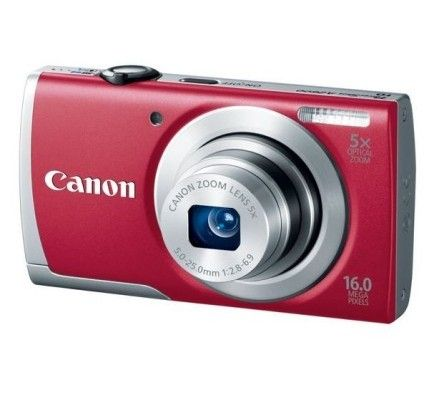 Canon PowerShot A2600 (Rouge)