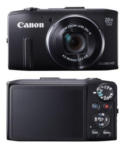 Canon PowerShot SX280 HS (Noir)