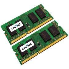 Crucial So-Dimm DDR3-1066 8Go (2x4Go)