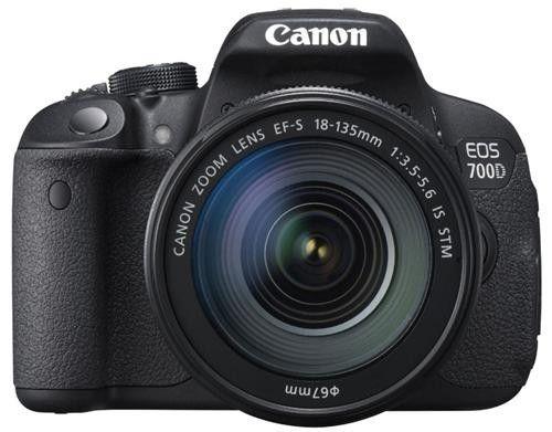 Canon EOS 700D + 18-135mm