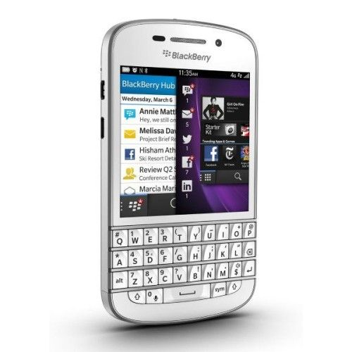 BlackBerry Q10 (Blanc)