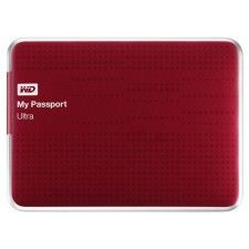 WD My Passport Ultra 1To (Rouge)