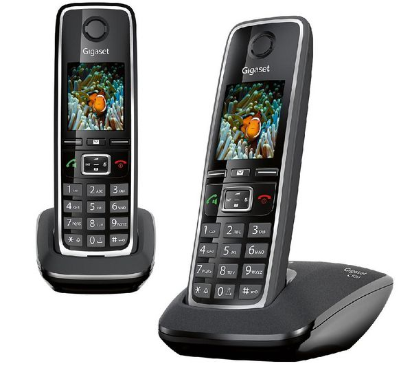 gigaset c530 duo noir t l phones fixes acheter au meilleur prix. Black Bedroom Furniture Sets. Home Design Ideas