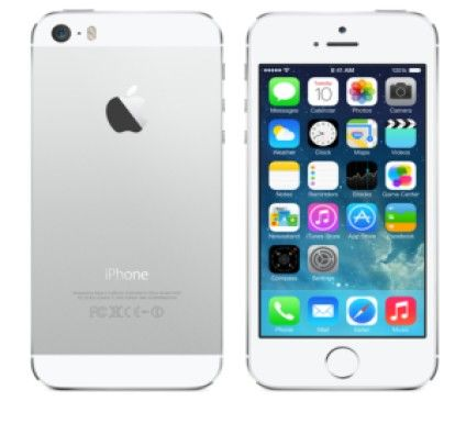 Apple iPhone 5S - 16Go (Argent)