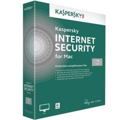 Kaspersky Internet Security 2014 - Licence 1 an 1 poste - Mac