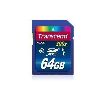 Transcend SDXC UHS-I 300x Premium 64Go Class 10