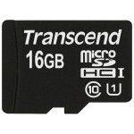 Transcend Micro SDHC UHS-I 300x Premium 16Go CL10
