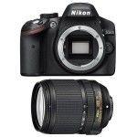 Nikon D3200 + 18-140mm VR