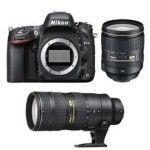 Nikon D610 + 24-120mm + 70-200mm