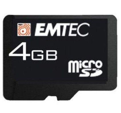 Emtec Micro SDHC 8Go Class 4