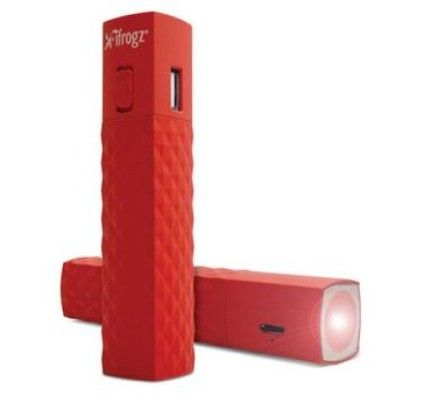 iFrogz GoLite + Lampe (Rouge)